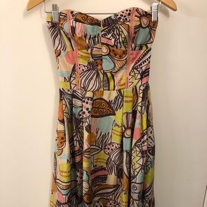 Phoebe Couture Silk Pucci Print Dress